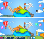 Chasing Dog – Spot the Difference Game