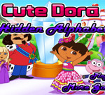 Cute Dora Hidden Alphabets