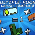 Multiple-Rooms Layout Template